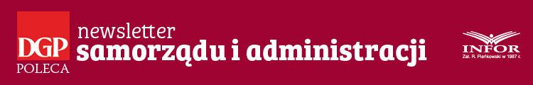 Newsletter Samorządu i Administracji Logo