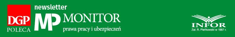 Newsletter Monitor Prawa Pracy i Ubezpieczeń Logo
