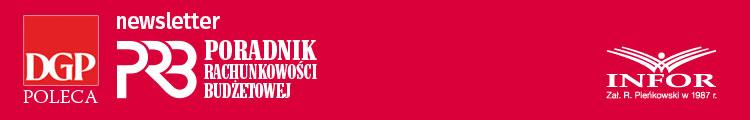 Newsletter Poradnik Rachunkowości Budżetowej Logo